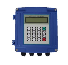 Clamp-on Ultrasonic Thermal Energy (BTU) Flowmeter -Wall Mount