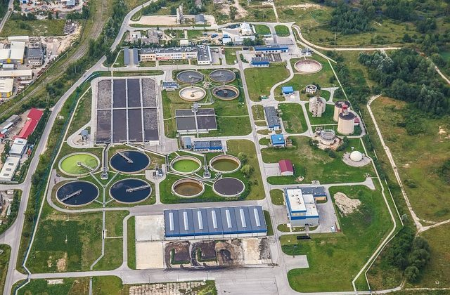 Treatment Plant Wastewater Image By Michal Jarmoluk From Pixabay